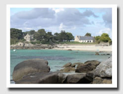 Beach in Brittany