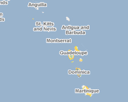 image map West Indies