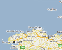 map Brittany